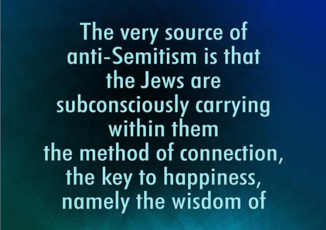 The Very Source of Anti-Semitism