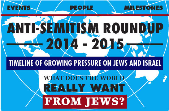 Anti-Semitism Roundup 2014-2015